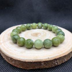 Bracelet 10mm Jade Néphrite