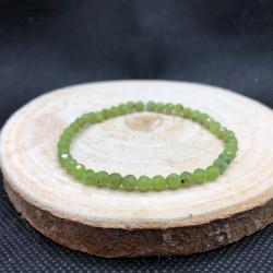 Bracelet facetté 4mm Jade...