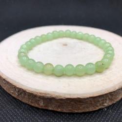 Bracelet 6mm « onyx marbre »