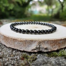 Bracelet 4mm onyx noir