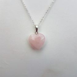 Pendentif coeur « Quartz...