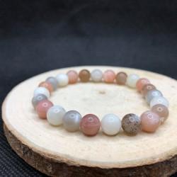 Bracelet pierre de lune mix